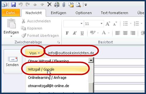 E-Mail online senden