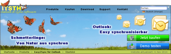 Outlook synchronisieren mit Easy2Sync